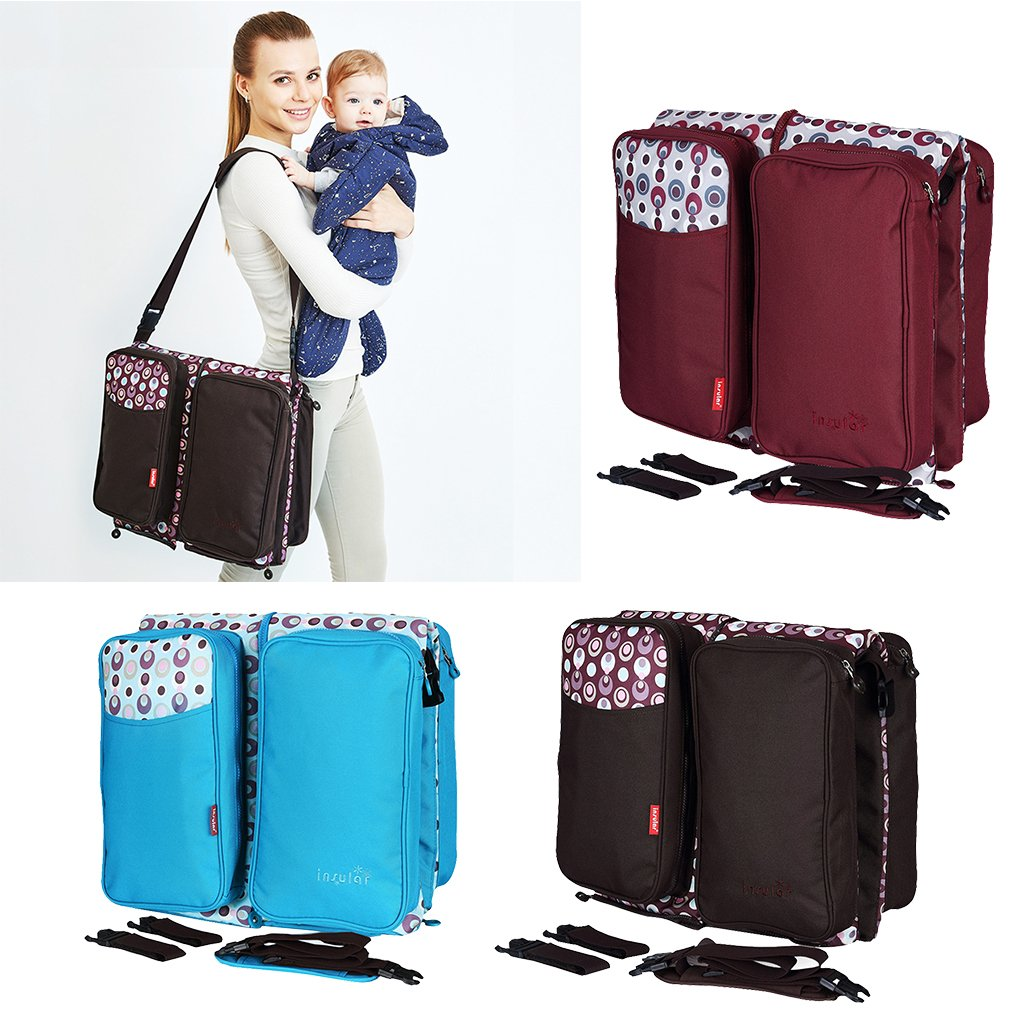Waterproof Multifunctional Diaper Bag Stroller Bag Baby Travel Bed Large Capacity Mummy Maternity Nappy Bag Mommy BagWaterproof Multifunctional Diaper Bag Stroller Bag Baby Travel Bed Large Capacity Mummy Maternity Nappy Bag Mommy Bag