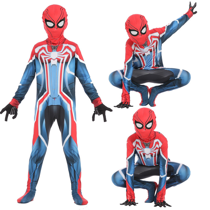 Spider-Man Far From Home Coming Costume Cosplay Zentai Suit Bodysuit Adult Kids Party Spiderman Avenger Superhero Velocity Suit