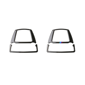 Image 1 - Voor Bmw 5 Serie Gt F07 F10 X3 X4 F25 F26 Auto Interieur Koolstofvezel Front Reading Light Frame Cover
