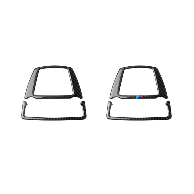 Voor Bmw 5 Serie Gt F07 F10 X3 X4 F25 F26 Auto Interieur Koolstofvezel Front Reading Light Frame Cover