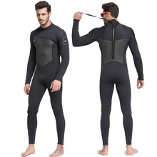 Extra Large Plus Size 3XL One Piece Close Body Wetsuit 3MM Neoprene Mens Full Long Suit Keep Warm Jumpsuit Diving Scuba Surfing