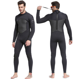 Image 1 - Extra Large Plus Size 3XL One Piece Close Body Wetsuit 3MM Neoprene Mens Full Long Suit Keep Warm Jumpsuit Diving Scuba Surfing