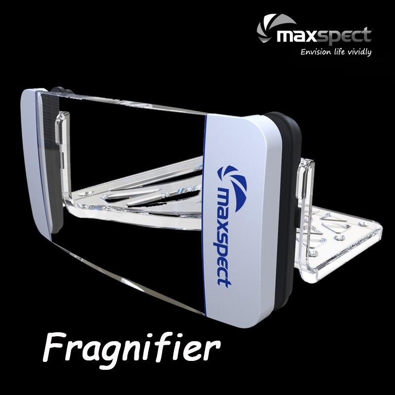 Maxspect Fragnifier akwarium powiększać widza glonów Megnetic Cleaner Frag stojak z mocowanie magnetyczne dla Marine/zbiornika rafa w Części i zaopatrzenie do hodowli ryb od Dom i ogród na  Grupa 1