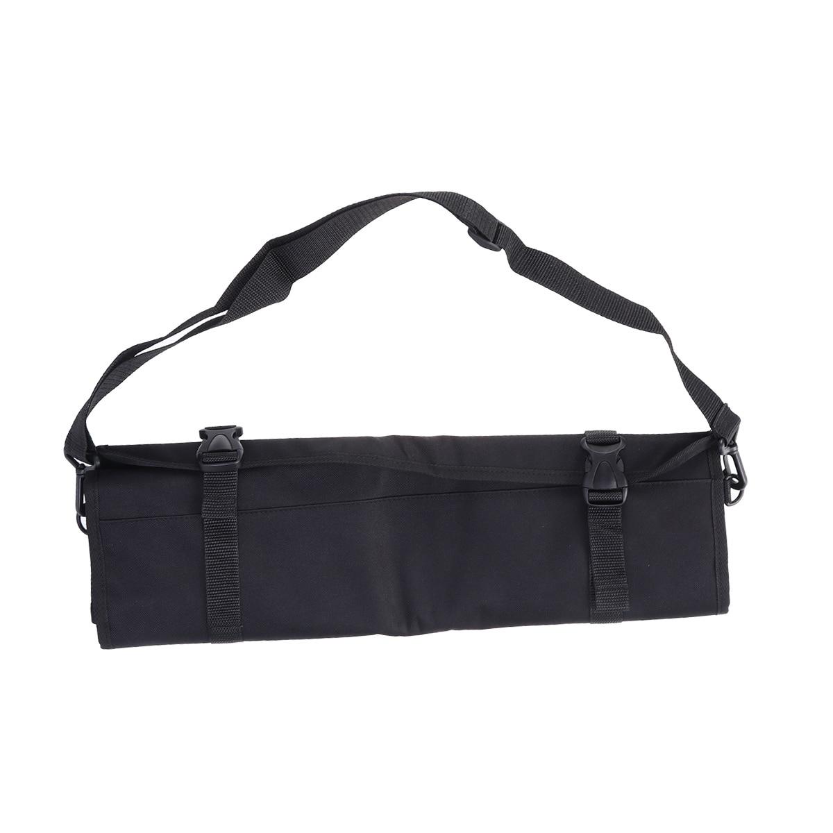 Tableware Bag Professional Kitchen Multifunction Dual Use Knife Roll Bag Holder Dinnerware Organizer Chef Knife Case Strap