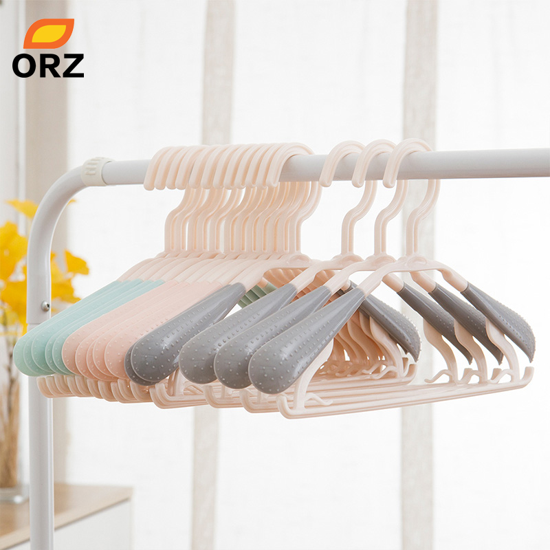 15/10PCS Clothes Hanger Extendable Closet Organizer Rack Home Storage Hangers For Clothes Coat Dress Shirts Storage Holder Rack