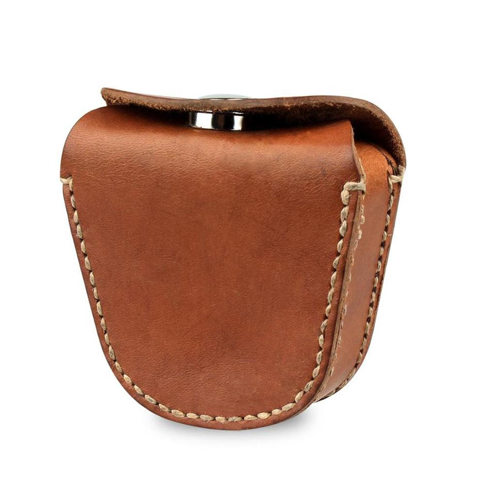 Leather Rifle Bullet Bag Portable Steel Ball Bag Manual Mens Leather Hunting Pockets Hunting Tools StorageLeather Rifle Bullet Bag Portable Steel Ball Bag Manual Mens Leather Hunting Pockets Hunting Tools Storage