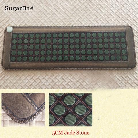 tourmaline pedra sofa mista jade massagem mat