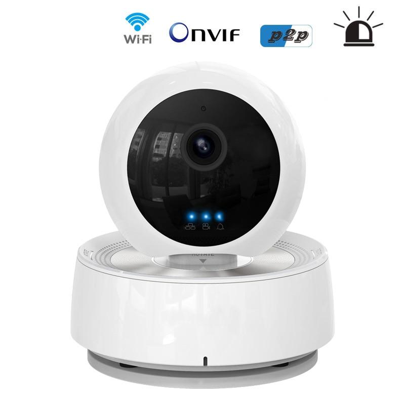 PTZ Alarm WIFI IP Camera Wireless Pan Tilt 1 0MP 720p IR LED P2P Plug Play