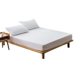 매트리스 커버 100% 방수 매트리스 보호대 침대 매트리스 용 버그 증거 먼지 진드기 매트리스 패드 커버