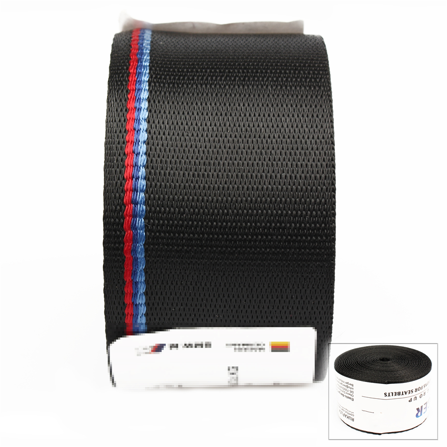 Car Seat Belt Black With Blue And Red Stripes Safety Belt in Seat Belts Padding from Automobiles Motorcycles