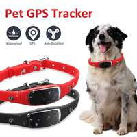Pet GPS Tracker Mini Waterproof Dog Cat Collar ID Locator GSM Tracking Device WIFI Real Time For Dog Cat Track Device