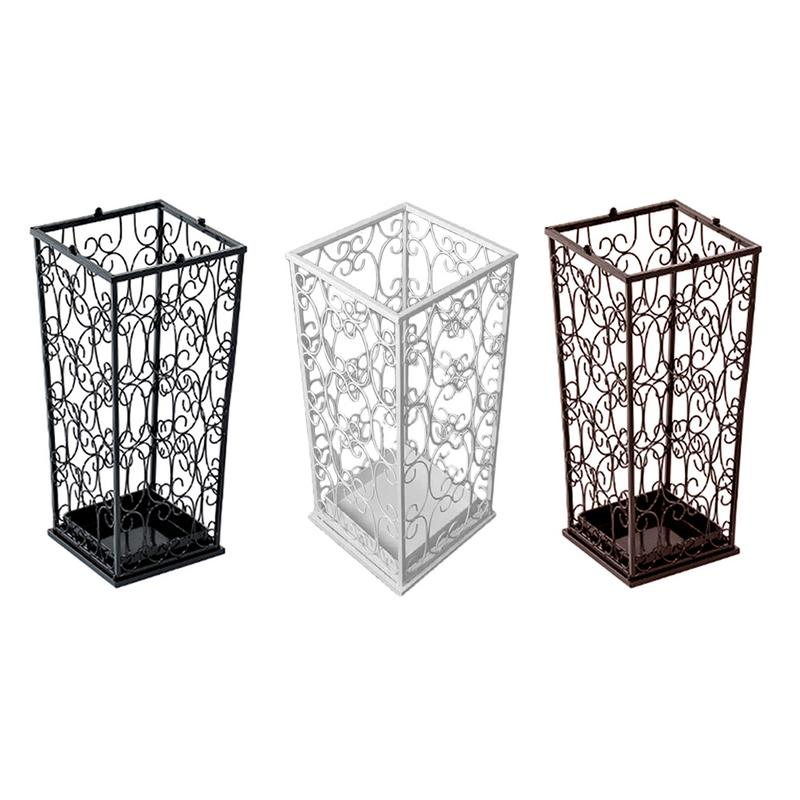 Umbrella Stand Rack Hollowed Metal Umbrellas Draining Can Storage Holder Shelf For Hotel Home Hallway Entryway Office DropshipUmbrella Stand Rack Hollowed Metal Umbrellas Draining Can Storage Holder Shelf For Hotel Home Hallway Entryway Office Dropship