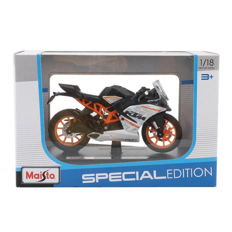 Toy KTM RC 390 Motorbike 11x3x6 cm 36