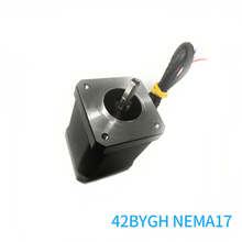 цена на NEMA 17 Stepper Motor 42BYGH 4 Lead Bipolar 2 Phase 48mm 60mm for CNC 3D Printer Drilling Machine High Torque Free Shipping