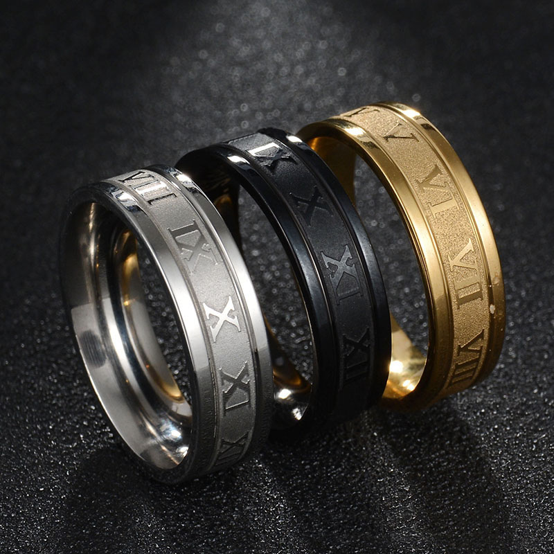 Ring Gifts Simple Roman...