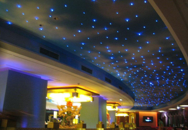 NOUVEAU 16 W RGBW LED Fiber Optique Étoiles ciel Plafond Kit Lumière 200 pièces/300 pièces/400 pièces * 0.75 MM * 2 M fiber optique + 28 clé à distance - 6