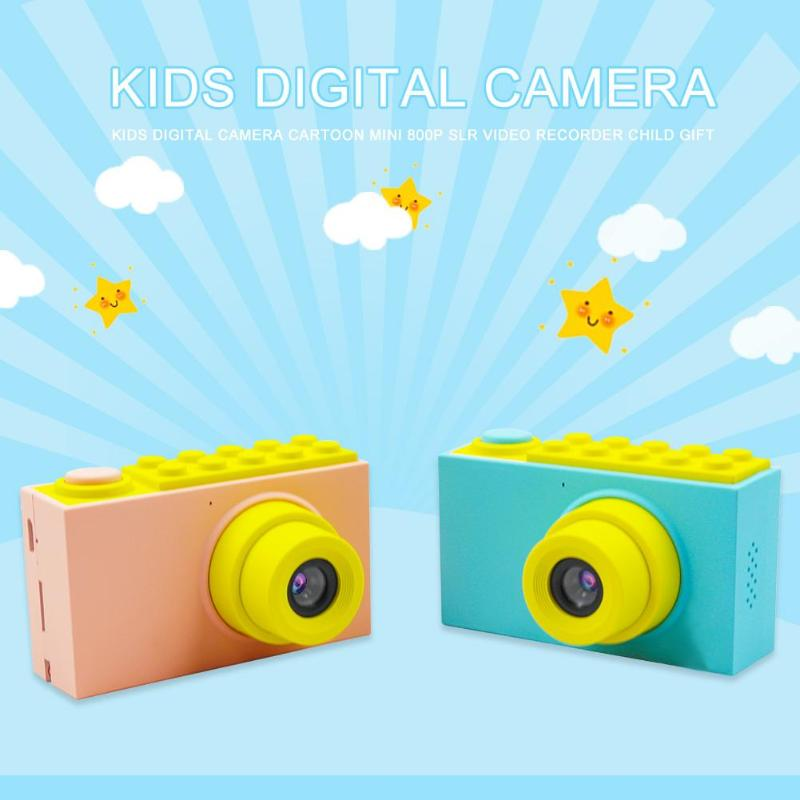 2 Inch Kids Mini Camera Toys Digital Camera Toy Multifunction Cute Cartoon Photography Toys for Child