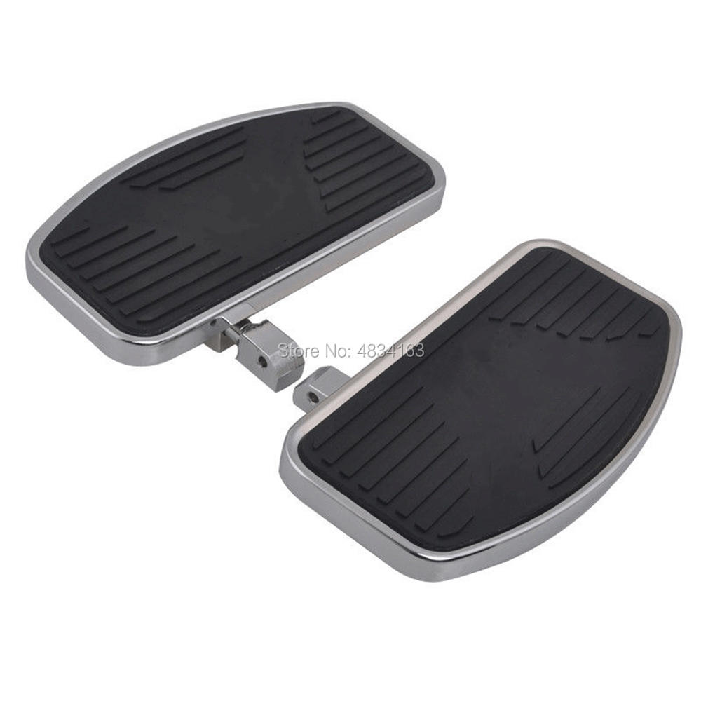 Footrest Motorcycle Driver Floorboards For Honda Shadow ACE VT400/750 VT750C VT750DC Deluxe 1997-2003 1998 1999 2000 2001 2002