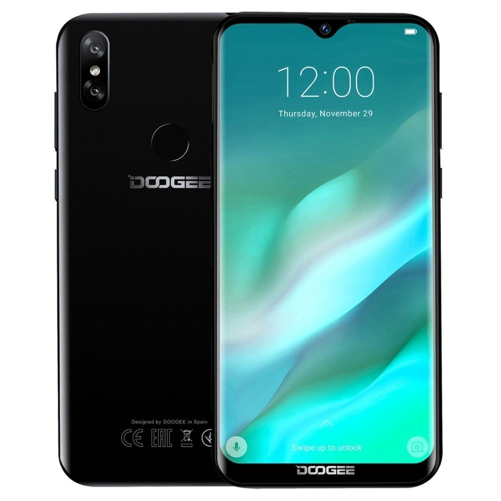 Doogee Y8 téléphone intelligent Android 9.0 3 GB RAM 16 GB ROM 6.1