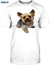 GILDAN Yorkshire Terrier Pet Dog Mens T Shirt