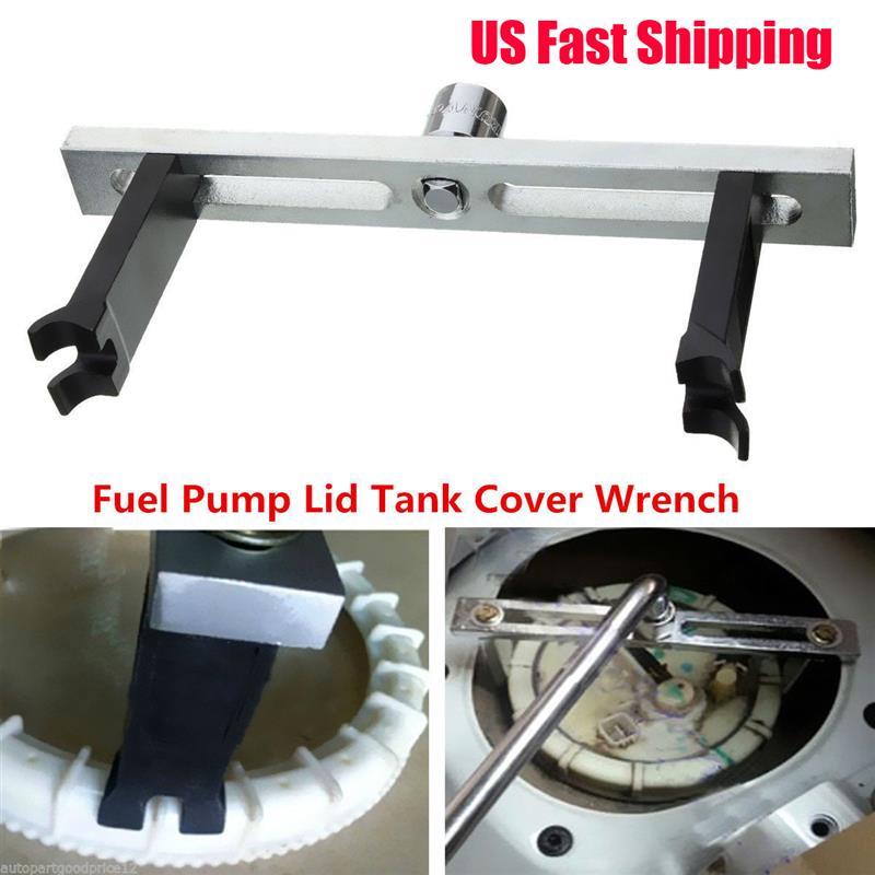 3 Jaws Adjustable Car Fuel Tank Lid Wrench Tool Remove Oil Cover Pump Cap Spanner Removal Tool