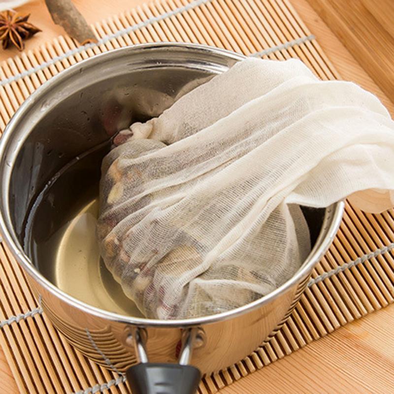 Drawstring Filter Bag Soup Bag Marinated Bag Slag Bag Kitchen Supplies Tea Strainer