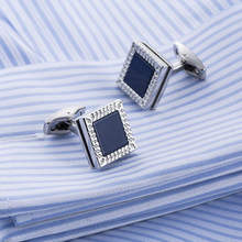 2017 New Mens Jewelry Fashion French Cufflinks Shirt Cuffs Gemelos Wedding Cuff links 513990 Gifts for Guests Men Sleeve Buttons купить недорого в Москве