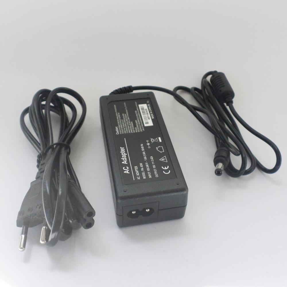 Laptop Power Supply Charger For Toshiba A135-S4467 L645D L645D-S4025 PA3714U-1ACA PA3714E-1AC3 <font><b>N17908</b></font> <font><b>V85</b></font> R33030 19V 3.42A 65W image