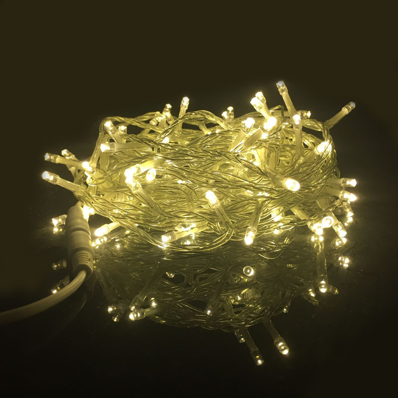Fairy Led String Light Dc12v 10m 20m 30m 50m 100m Warm White Christmas Wedding Party Holiday Decoration Waterproof Garland