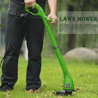 400W Folding Electric Lawn Mower 12500r/min Garden Home Trimming Machine For Gardening Green