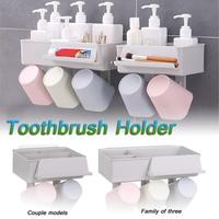 Зубные пасты соковыжималка пластиковые на присосках мыло зубная щётка коробка держатель Ванная комната размещение душ дома Storege паста ...