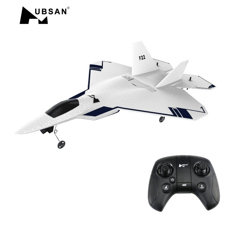 HUBSAN Rc-Aircraft Gps Drone Brushed Wingspan 720p-Camera FPV with 4CH F22 310mm EPO