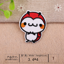 Cartoon animal ladybird Scarab Little bee clothes patch children decorate  DIY