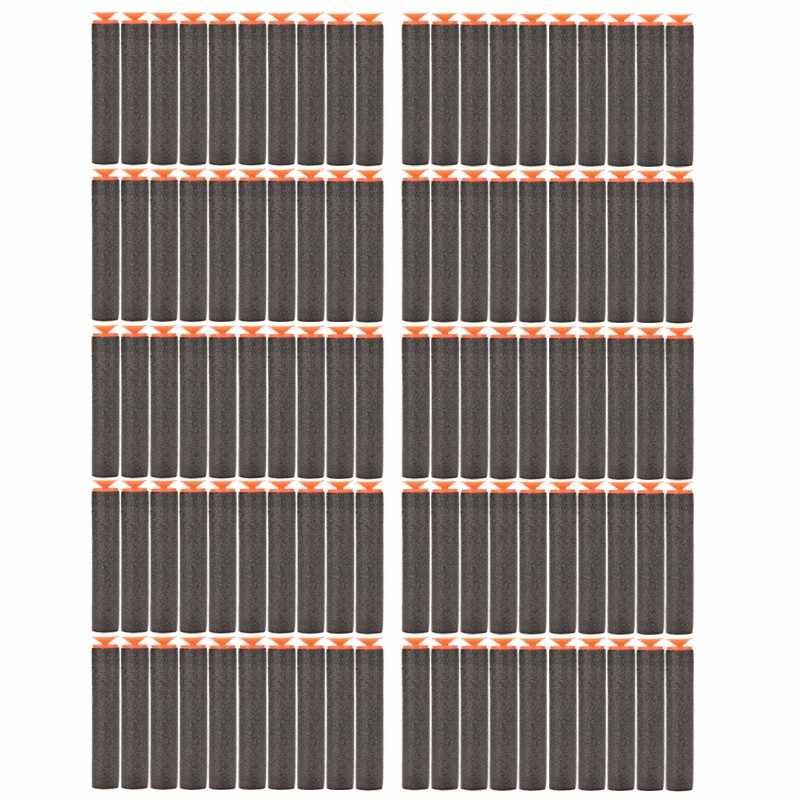 10 stuks Foam EVA zachte kogel Elite Sucker Rampage/Retaliator Series Blasters Refill Clip Darts elektrische speelgoed pistool