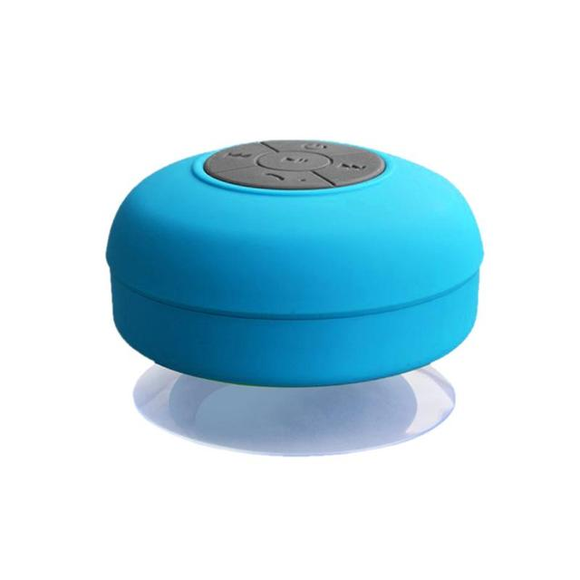 Portable Waterproof Wireless Bluetooth Speaker Mini Bathroom Musical Suction Cup Stereo Outdoor Subwoofer Loudspeaker Universal