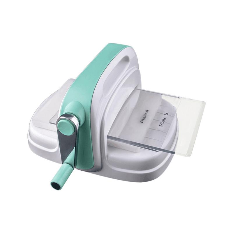 Embossing Machine Large Size Green Hand Paper Art DIY Cutting Thin Making Tool Paper Machine Scrapbooking Cutting Card Toy Decor-in Die-Cut Machines from Home & Garden    1