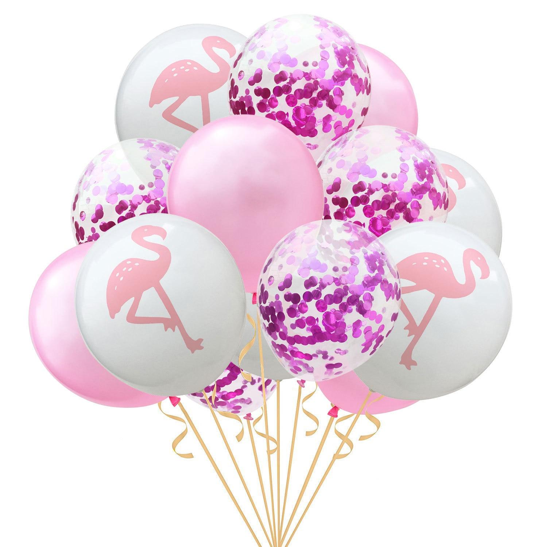 Inflatable Flamingo Luau Hawaiian Beach Fun Decor Tropical Birthday Party Event