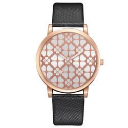 Новый стиль модный тренд крокодиловый ремень Pu часы популярные печатные сплава Взрывные Модели часы