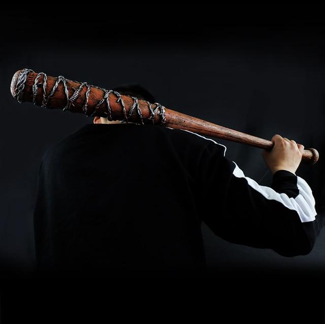 33inch The Walking Dead tool Negan PU baseball bat softball bit stick 4