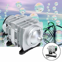 30W 55L/min Electromagnetic Air Compressor Oxygen Aquarium Fish Tank Air Pump
