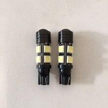 Auto LED lamps, 8+1 car lamp bulb modified lens general super bright T10 lights