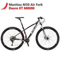 Сава Deck700 Мужской горный велосипед горных углеродного волокна горный велосипед 29 Mtb велосипеда с Shimano XT M8000 велосипеды горы Mtb