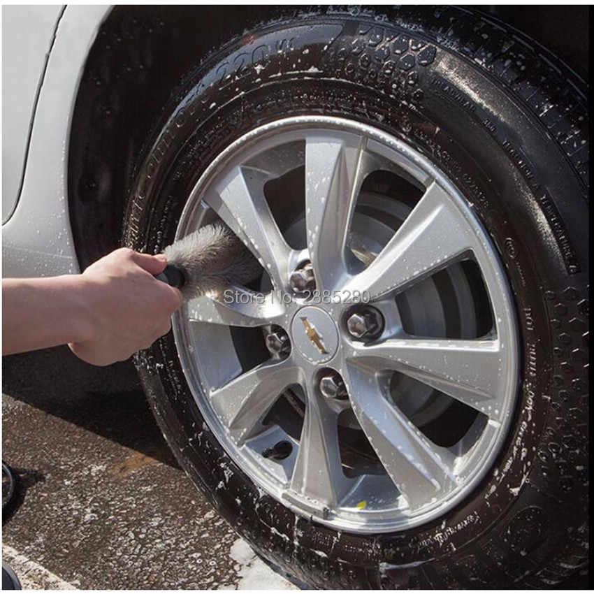 سيارة تنظيف أداة عجلة الاطارات ريم فرشاة تنظيف ل VW Golf 5 6 7 جيتا MK5 MK6 MK7 CC تيجوان باسات B6 b7 شيروكو جديد طوارق R