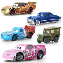 Disney Pixar Cars 2 Lightning Mcqueen Mater Jackson Storm Ramirez 1:55 Diecast Vehicle Metal Alloy Boy Kid Toys Gift Oyuncak