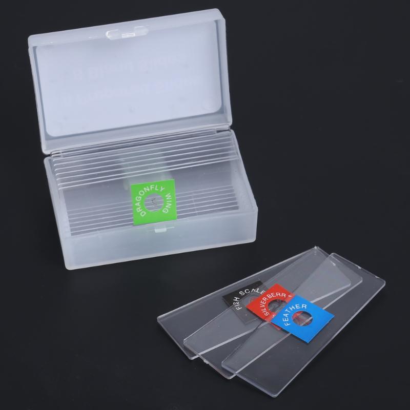 Kit de Microscope biologique 100X/600X/1200X laboratoire 3 paramètres de grossissement cadeau de jouet éducatif scolaire pour enfants enfants étudiants - 2