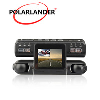 I4000 Car DVR Dual Lens Driving Video Recorder 360 Degree Dash Cam Outside Inside both Recording Left 1080P Right 480P