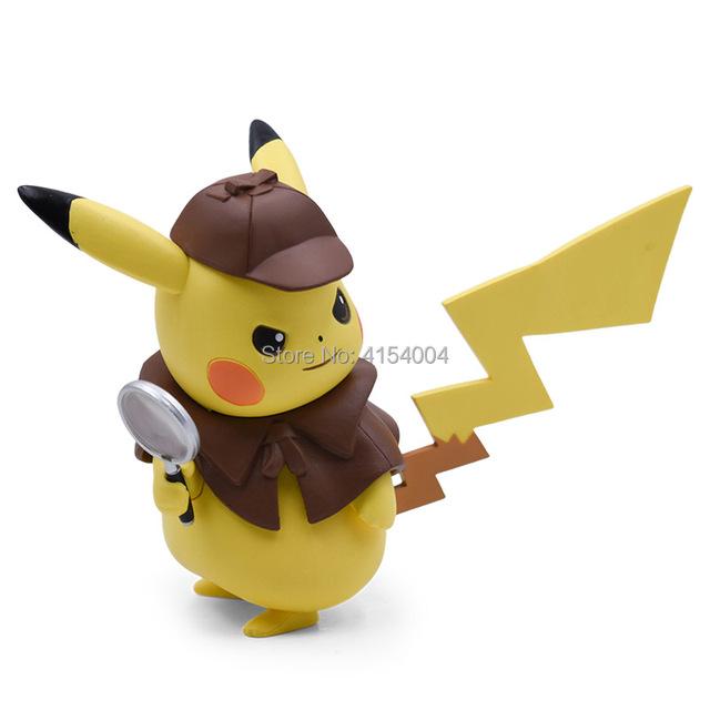 Pokemon Detective Pikachu Cosplay Figura de Acción (10 Colores)