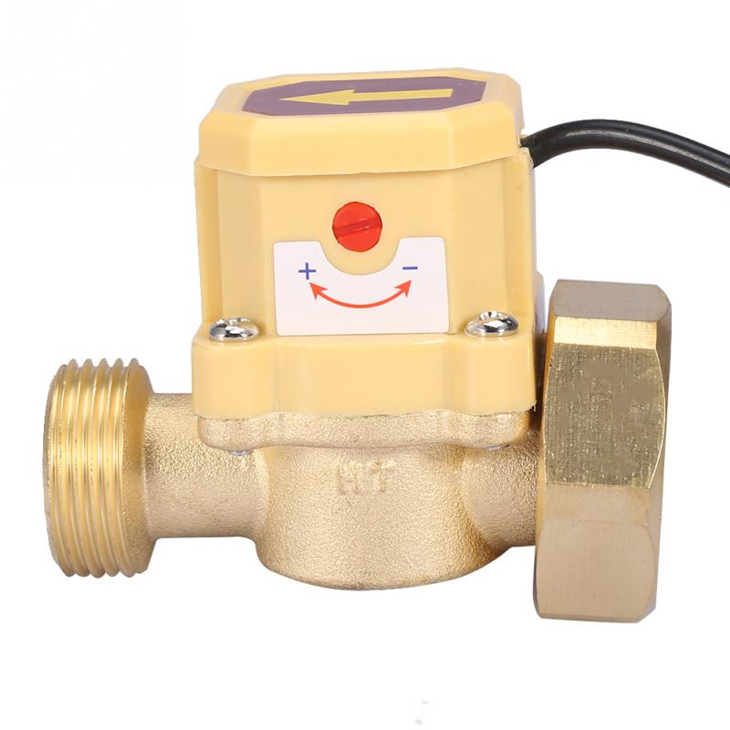 HT-200 Water Pump Switch AC220V Flow Sensor Switch G3//4 G3//4 Thread Connection for Low Water Pressure Equipment Pump Flow Switch