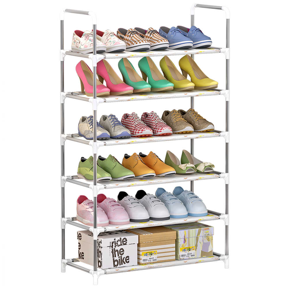 4 Tier 5 Tier 6 Tier Storage Shoe Rack Shoe Tower Shelf Storage Organizer Cabinet Stackable Shelves Holds 18 Pairs Of Shoes Shoe Racks Organizers Aliexpress
