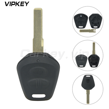 Remotekey 3 Buttons Car Remote Fob Key Case Shell With Battery Replacement For Porsche 911 996 Boxster S 986 image